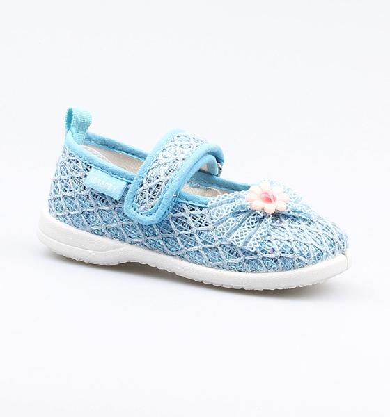 Купить Сандалии Котофей для девочки р.21 131125-11 голубой, Детские сандалии