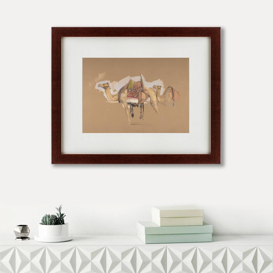 Картина TWO CAMELS, 1843, 42х52см, Картины в Квартиру фото