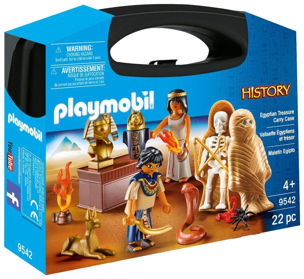 Купить Конструктор пластиковый Playmobil Возьми с собой: Египет, Конструкторы пластмассовые
