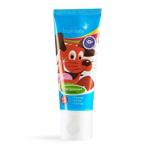 Купить Детская зубная паста Brush Baby от 6 лет 50 мл мята, Brush-Baby, Детские зубные пасты