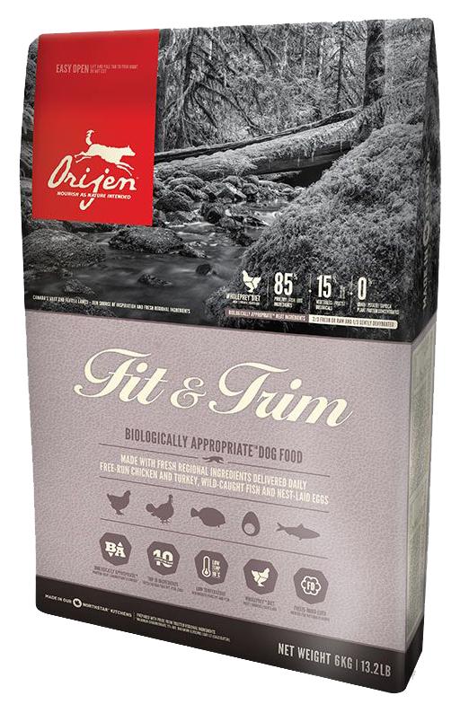 Сухой корм для собак Orijen Fit  Trim цыпленок 0.34кг.
