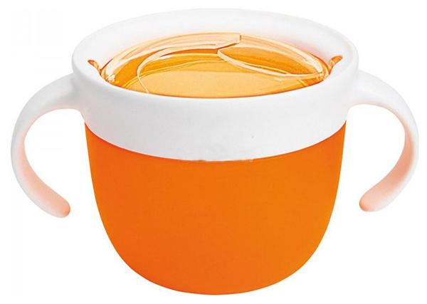 Купить Контейнер с крышкой для хранения продуктов Munchkin Поймай печенье 12+ Оранжевый, Контейнеры и пакеты для хранения грудного молока