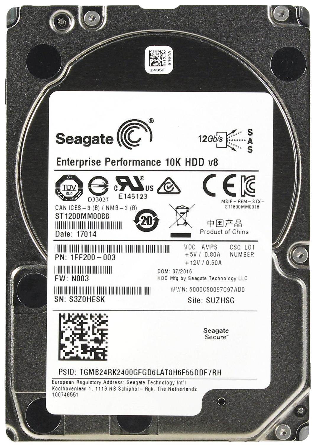 Внутренний жесткий диск Seagate Enterprise Performance