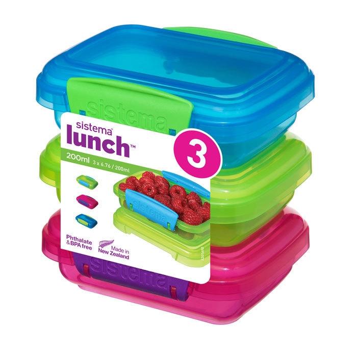 Набор контейнеров Lunch (3 шт) 200 мл