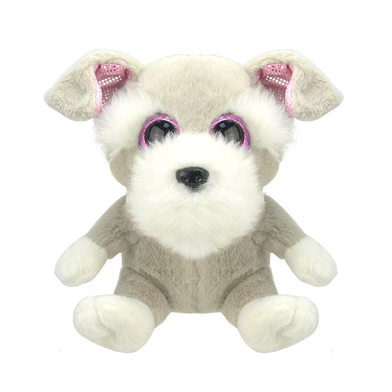 Купить Мягкая игрушка Wild Planet Шнауцер маленький 15 см, Мягкие игрушки животные