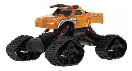 Радиоуправляемая машинка Zhiyang Toys Джип Оранжевый