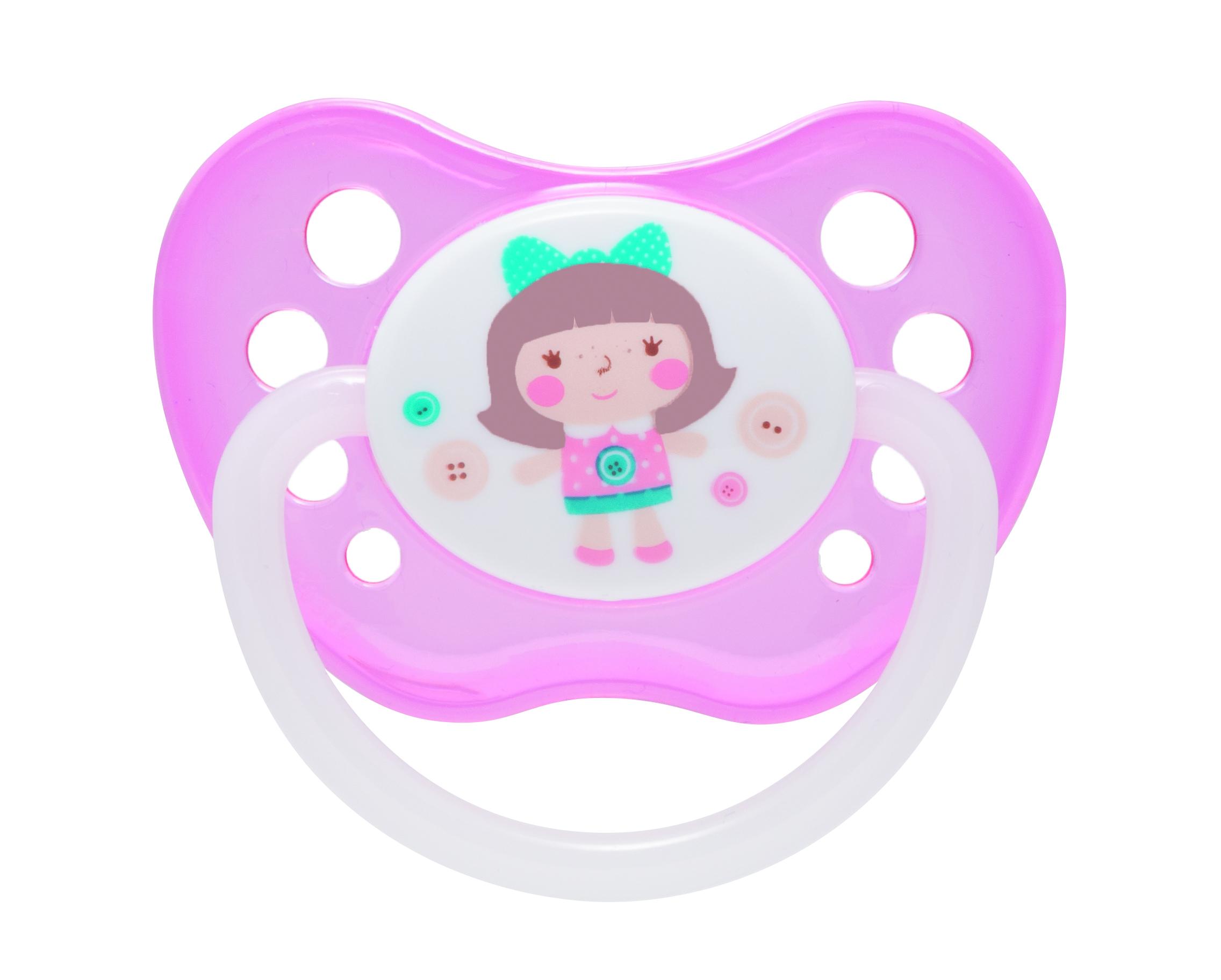 Купить Toys 23/260, Пустышка анатомическая Canpol Toys латексная 6-18 мес. розовый, Canpol Babies,