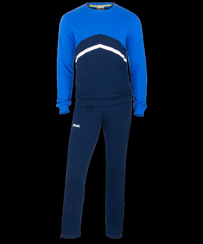 Спортивный костюм Jogel JCS-4201-971, темно-синий/синий/белый, M INT