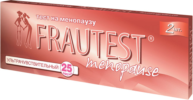 Тест Frautest menopause для определения менопаузы