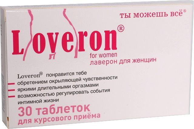 Купить Лаверон для женщин 250 мг, Лаверон Nillen Alliance Group для женщин 250 мг 30 капсул