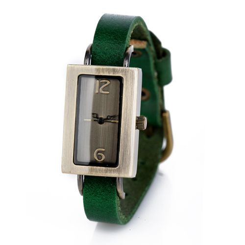 Часы Kawaii Factory Remembrance зеленые