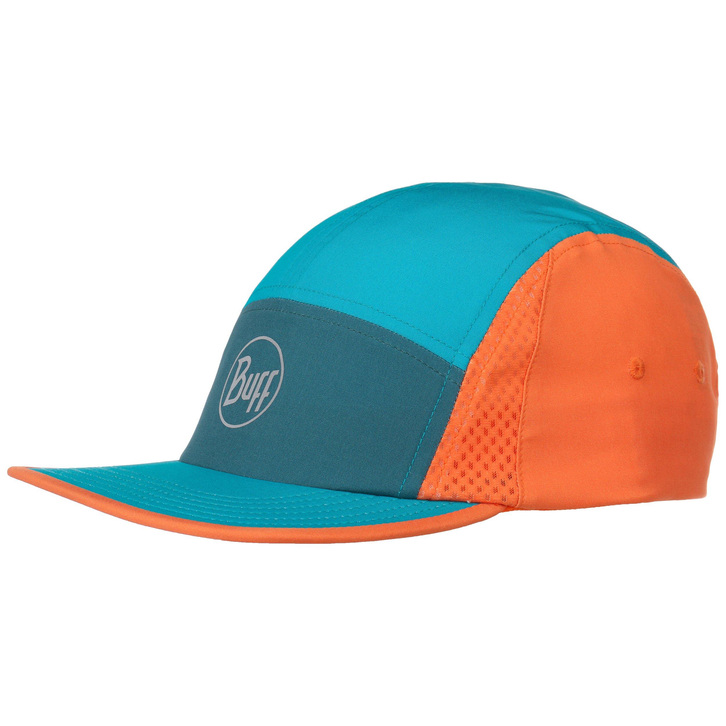 Бейсболка Buff Run Cap, emerald green,