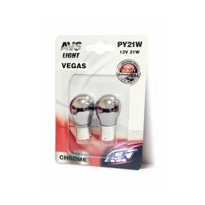 Лампа AVS Vegas CHROME в блистере 12V.