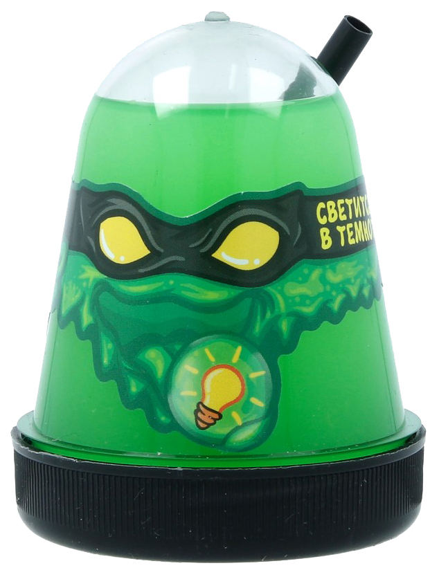Купить Игрушка SLIME S130-18 Ninja светится в темноте, зеленый,