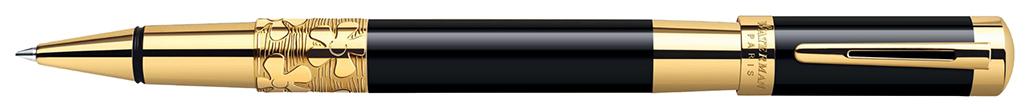 Ручка-роллер Waterman Elegance - Black GT, F, BL