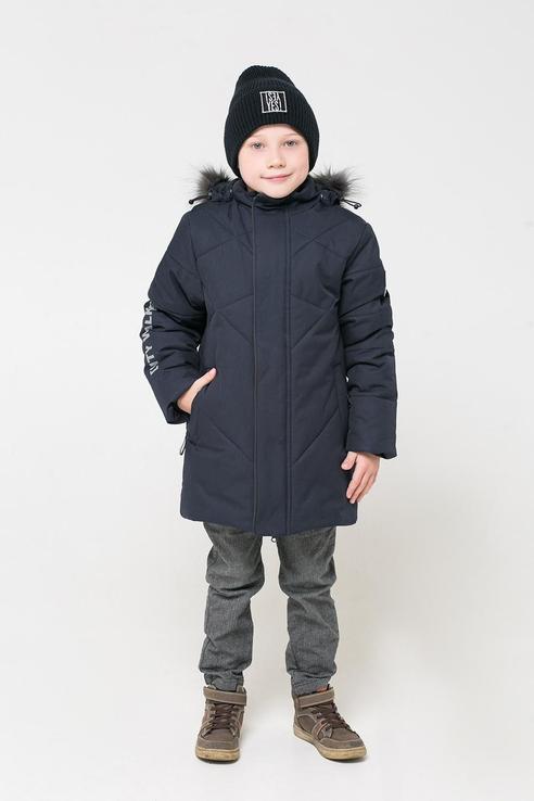 Зимняя куртка из мембранной ткани Crockid цв. серый, р. 122-128 1500071254-2