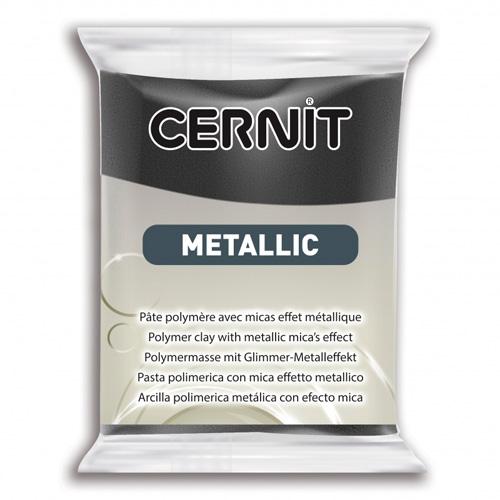 Купить CE0870056 Пластика полимерная запекаемая Cernit METALLIC, 56 г,