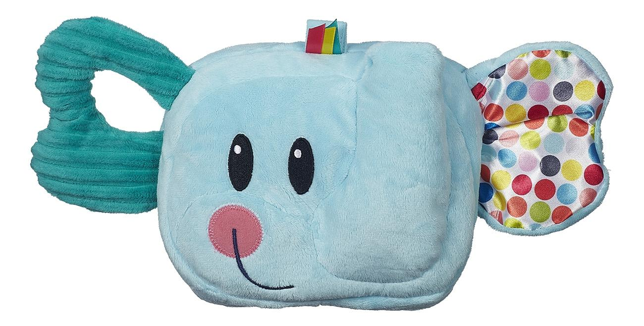 Купить Веселый Слоник, Мягкая развивающая игрушка Playskool Веселый слоник серии Возьми с собой B2263, Развивающие игрушки