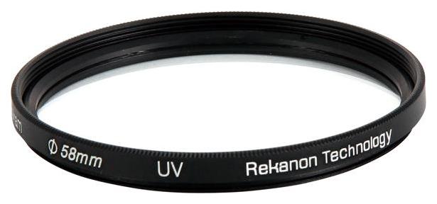 Светофильтр для фотоаппарата Rekam UV 58mm