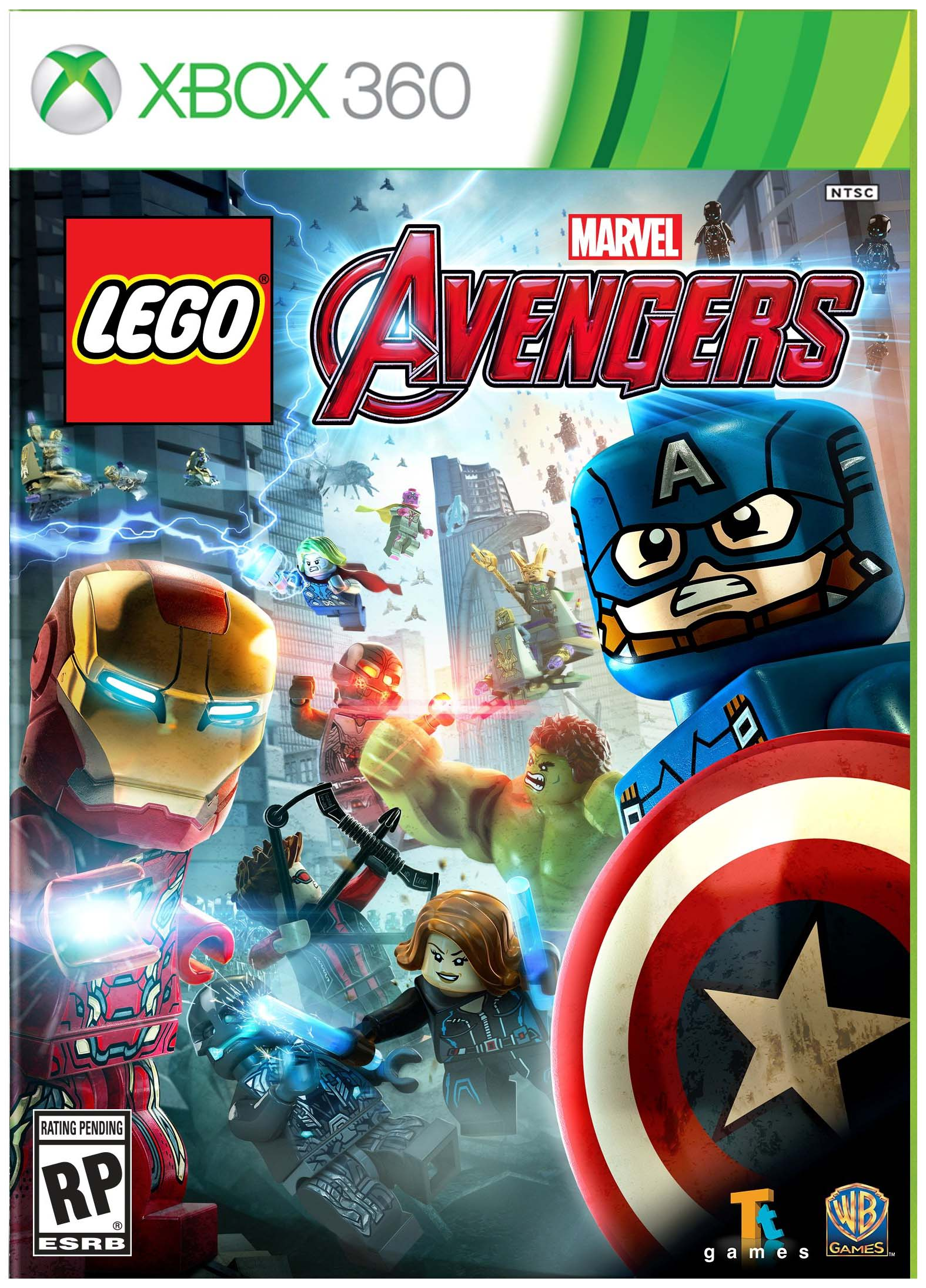 Игра LEGO: Marvel Мстители для Xbox 360