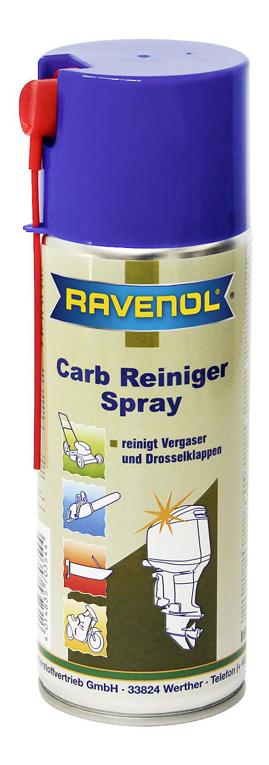 Средство для очистки карбюраторов RAVENOL Carb Reiniger