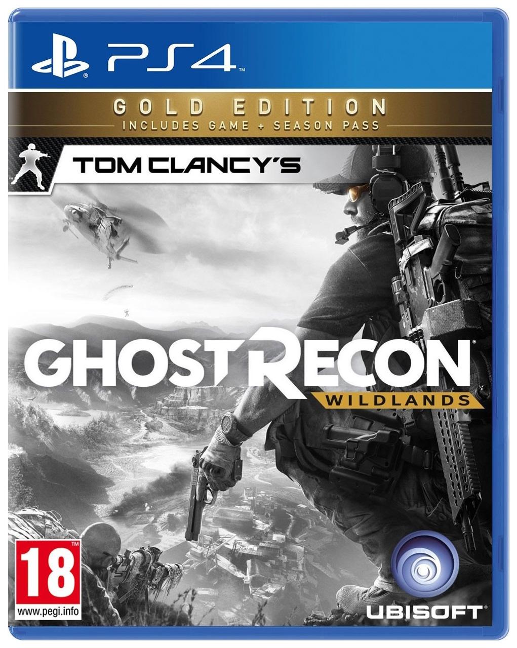 Игра Tom Clancy's Ghost Recon: Wildlands. Gold Edition для PlayStation 4 фото
