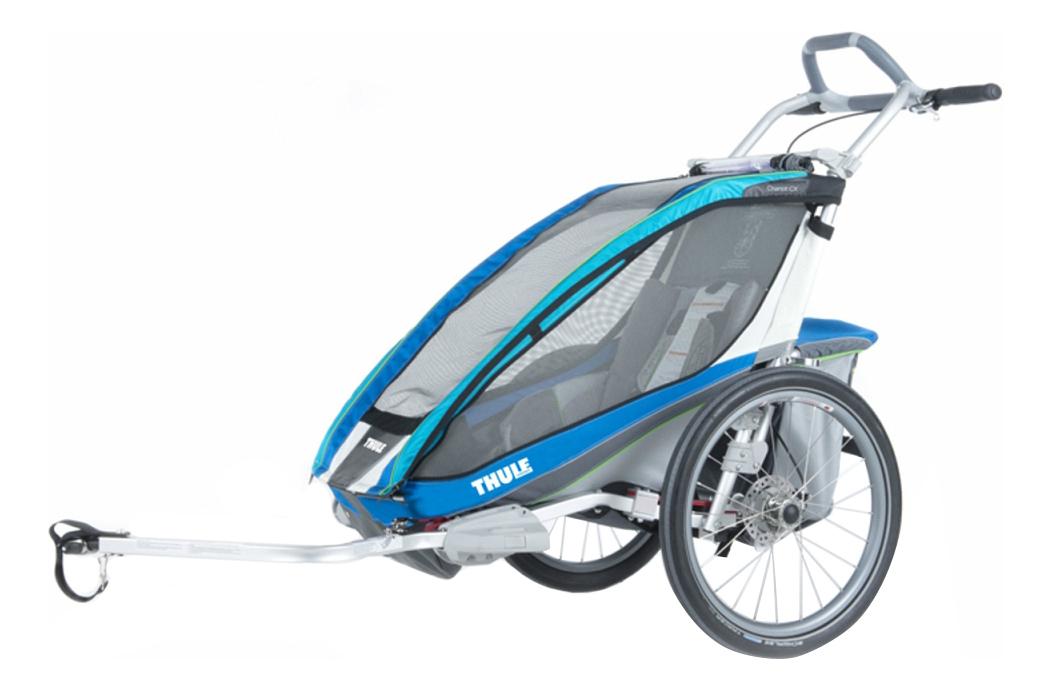 Коляска-велоприцеп Thule Chariot CX-1 синяя