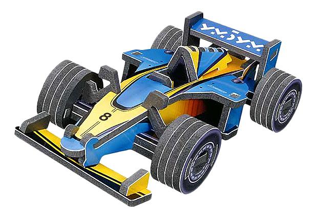 Купить Конструктор для малышей Формула, Конструктор Мини-Пазл 3D, УмБум, Детские конструкторы