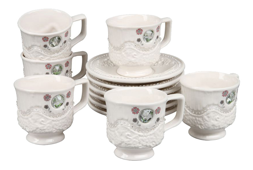 Чайный сервиз Rosenberg Чайный сервиз 8693, 12 предметов, 170 мл 12 пр. фото
