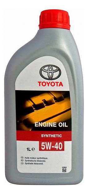 Моторное масло Toyota Engine Oil Synthetic 5W-40 SN/SM/CF 1л