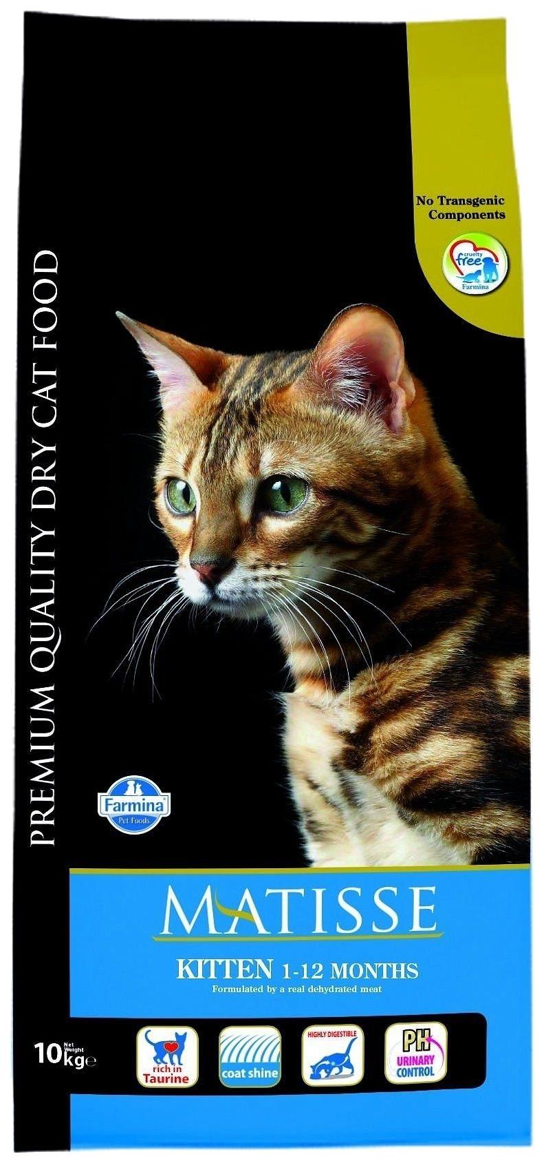 Сухой корм для котят Farmina Matisse Kitten, курица, 10кг