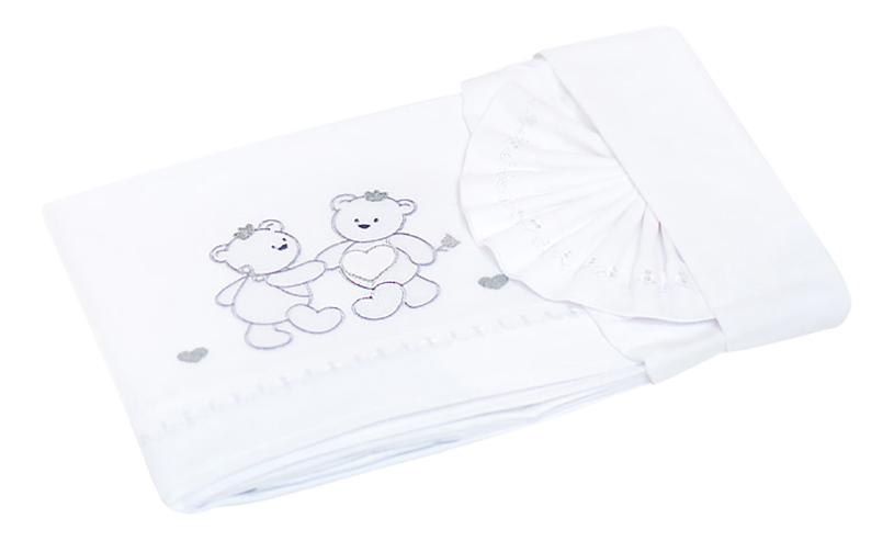 Комплект детского постельного белья Italbaby Principinii белый
