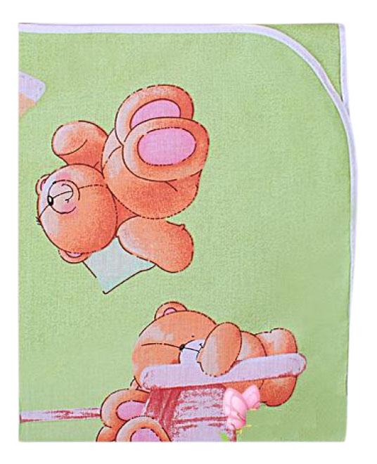 Пеленки для детей Мотылек К69 зеленая