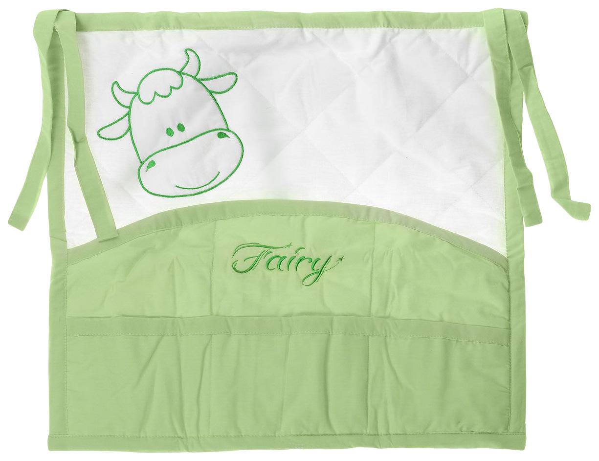 Купить Карман для кроватки Fairy На лугу, Текстильная карман в детскую кроватку Fairy На лугу 5623, Аксессуары для детской комнаты