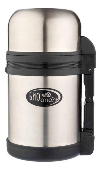 Термос Biostal NG-600-1 0,6 л серебристый/черный