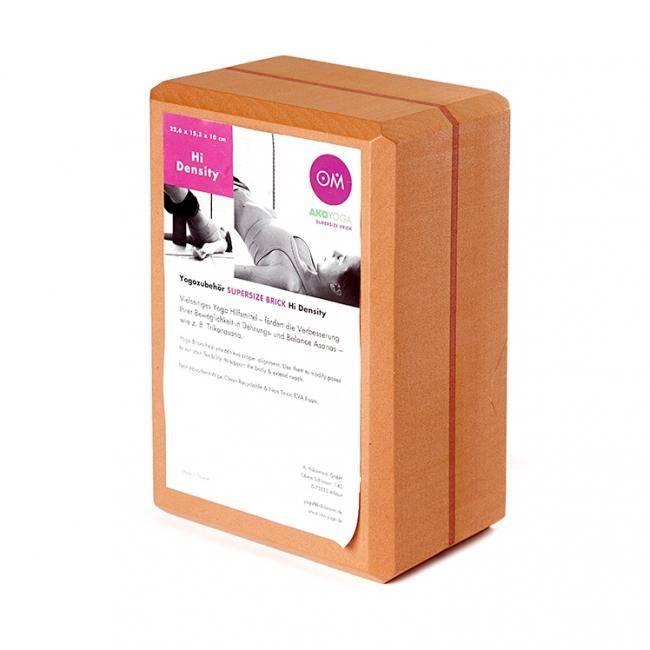 Кирпич для йоги RamaYoga из EVA-пены Yoga brick Supersize 510605