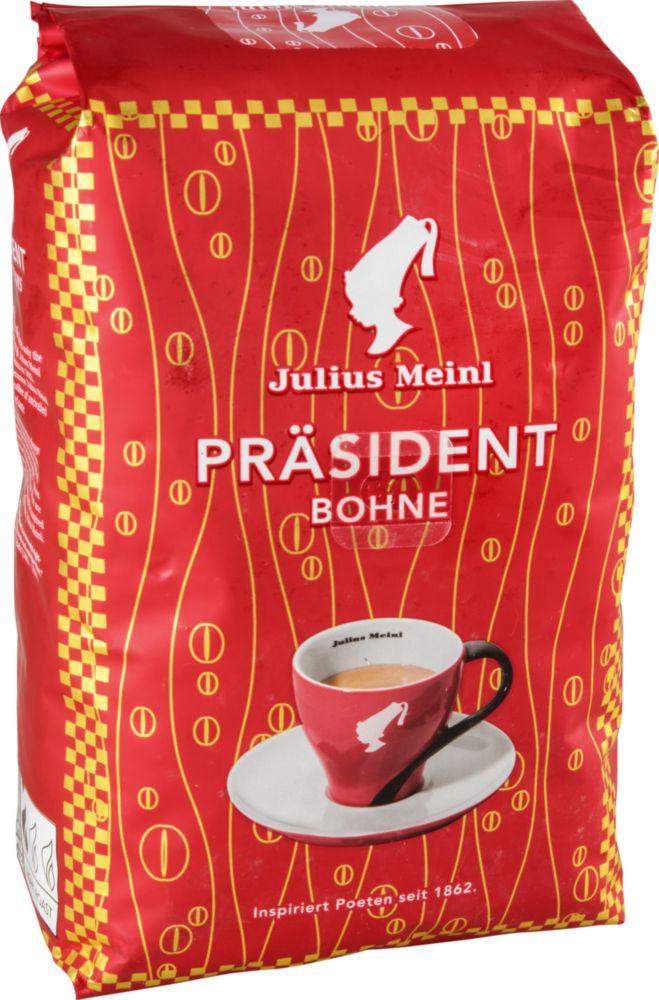 Кофе в зернах Julius Meinl президент 500 г