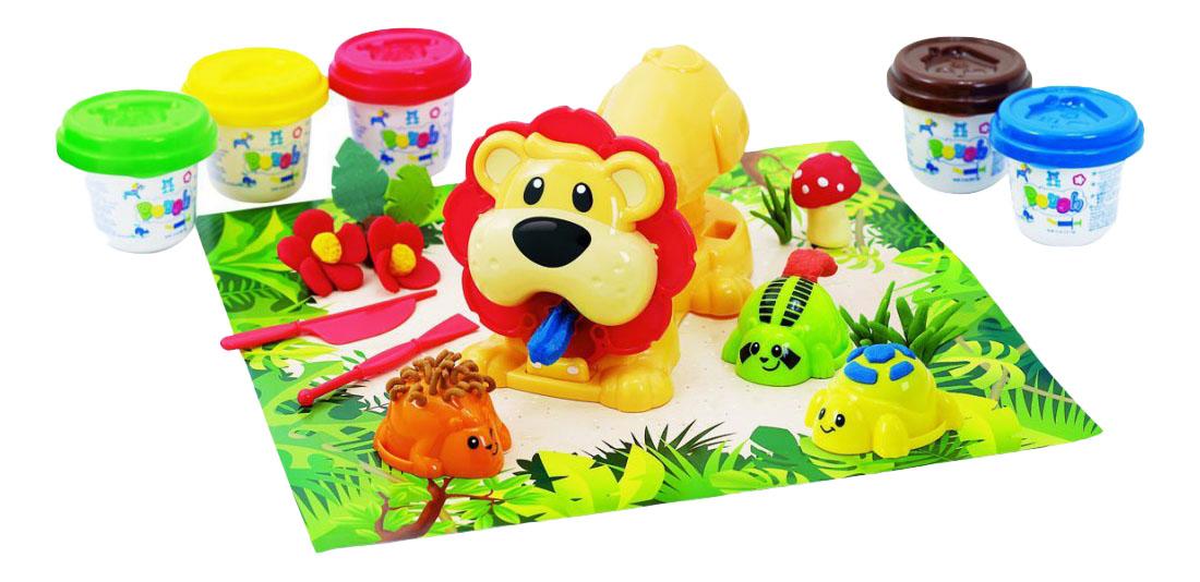 Купить Набор для лепки из пластилина Playgo Джунгли 8646, Playgo Toys,