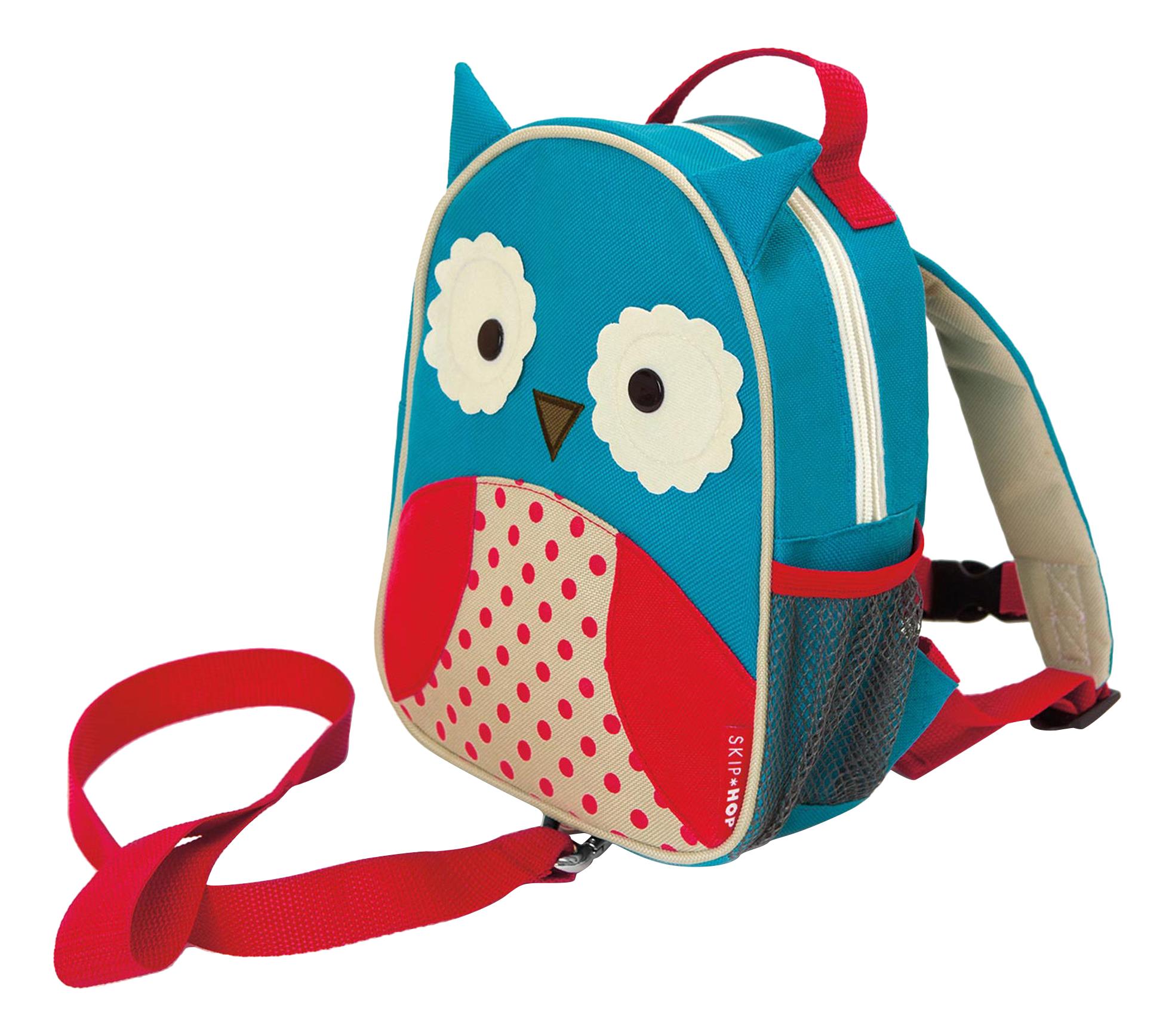 Купить Рюкзак детский Skip Hop с поводком Сова SH 212204, Школьные рюкзаки и ранцы
