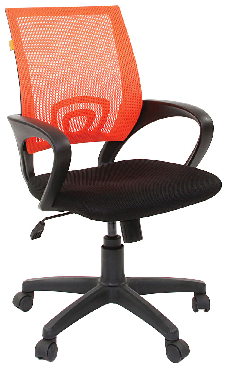 Офисное кресло CHAIRMAN 696 00 07013172, оранжевый/черный