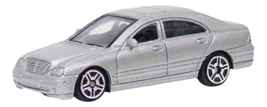 Купить Mercedes-Benz C-Class серебристая, Коллекционная машинка Mercedes-Benz C-Class, серебристая, MOTORMAX, Коллекционные модели