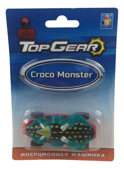 Машинка пластиковая 1TOY Top Gear Croco Monster
