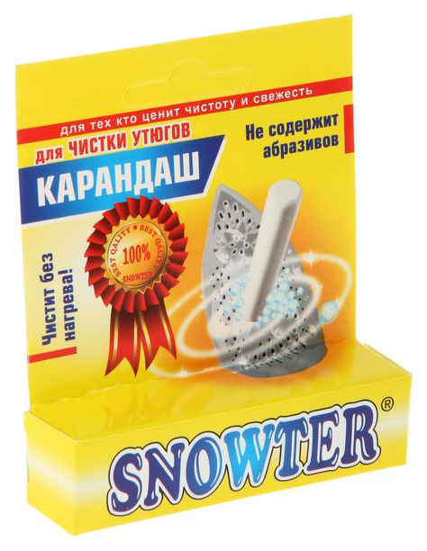 Карандаш для чистки поверхности утюга Snowter
