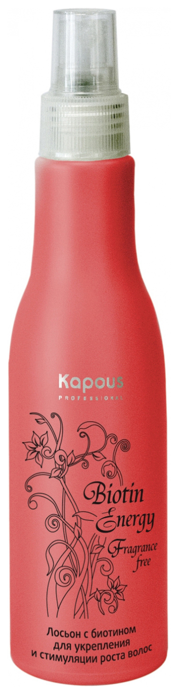 Купить Лосьон для волос Kapous Professional Biotin Energy Lotion 100 мл