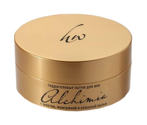 Патчи для глаз Premium Alchimia с золотом 60 шт