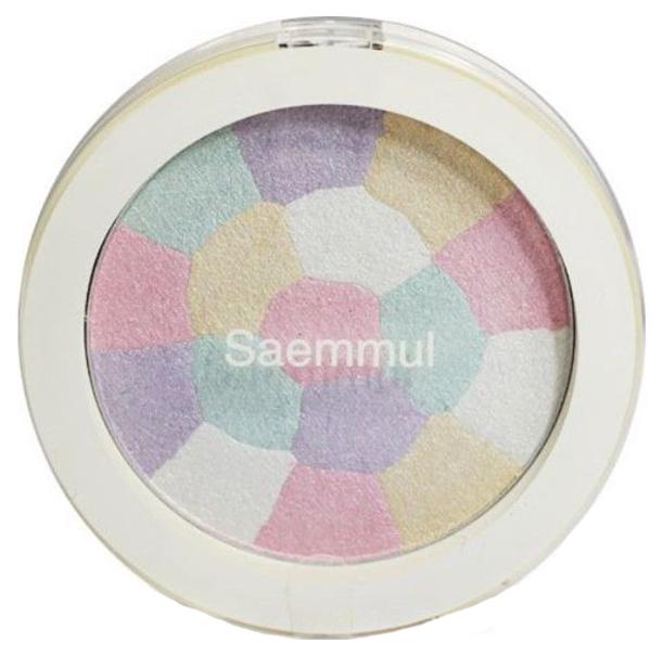 Купить Хайлайтер минеральный The Saem Saemmul Luminous Multi Highlighter Тон 01 Pink White, 8 г