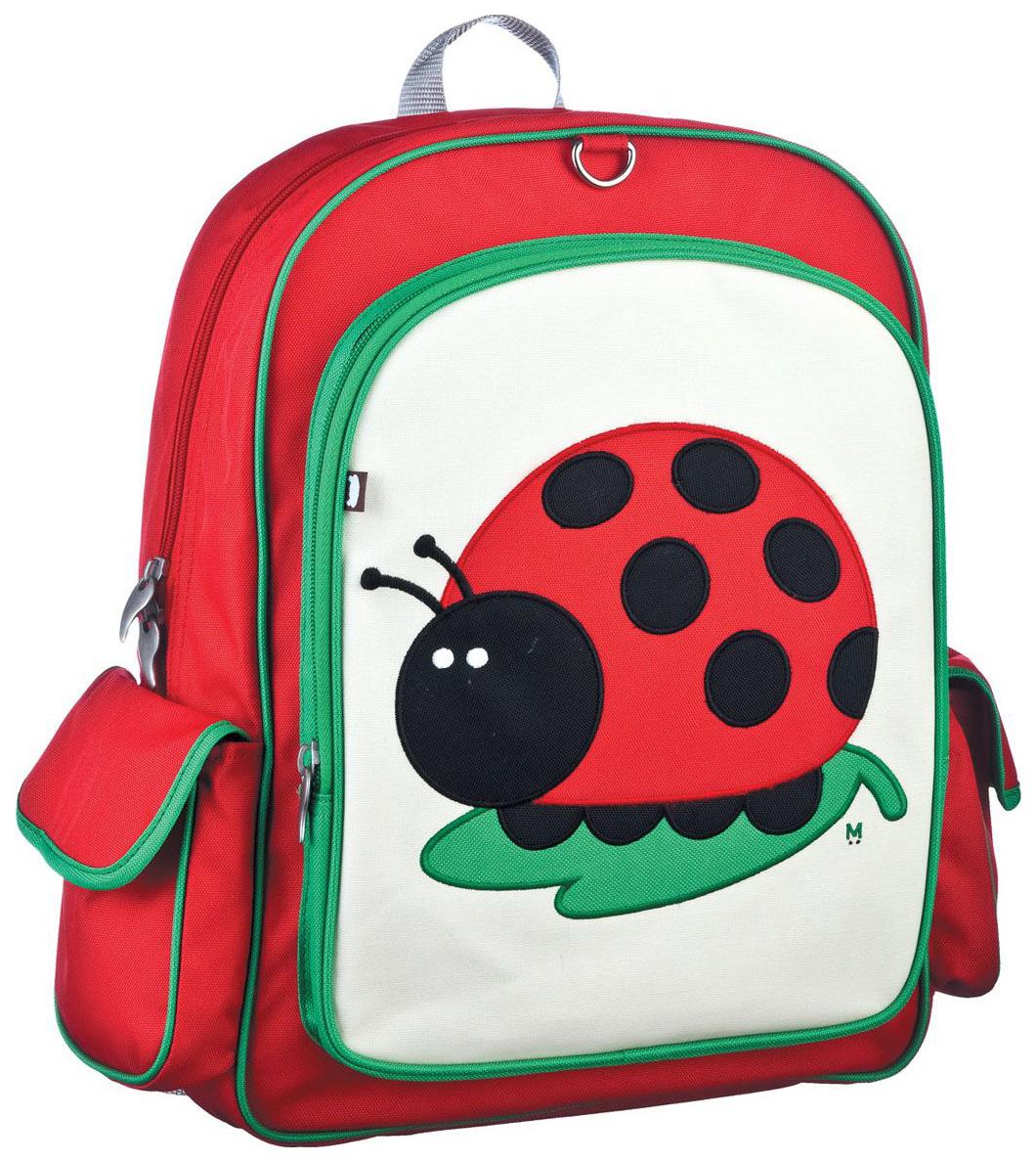 Купить Juju-Lady Bug зеленый/красный, Рюкзак Beatrix Big Kid Juju-Lady Bug Зеленый/Красный, Школьные рюкзаки и ранцы