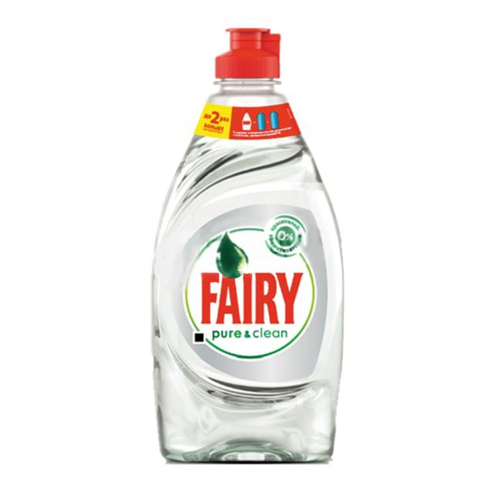 Средство для мытья посуды Fairy pure&clean