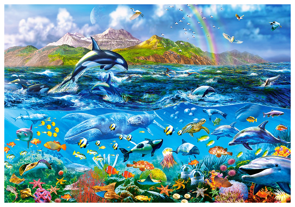 Пазл Castorland Панорама океана 1000 деталей C-104017