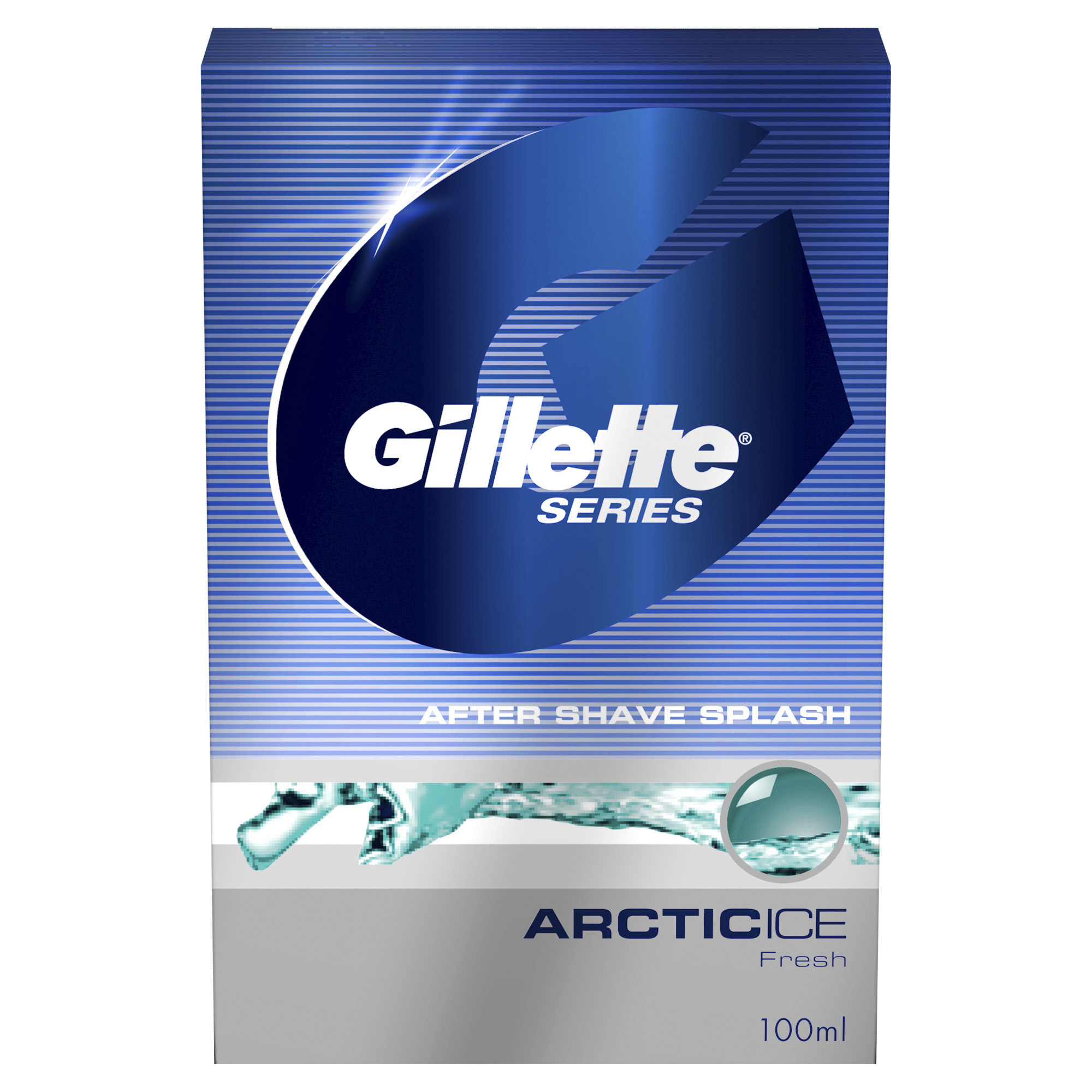 Средство после бритья Gillette Series Лосьон arctic ice 100 мл фото